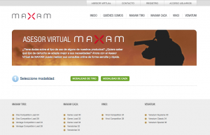 Cartuchos Maxam asesor virtual
